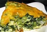 Sałatka z mandarynką, kisz szpinakowo-brokułowy, toffi / wyróżnienie